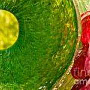 Green And Red Print by Artist and Photographer Laura Wrede