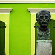 Green Print by Mauricio Jimenez