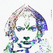 Greta Garbo Print by Naxart Studio