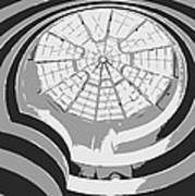 Guggenheim Museum Bw3 Print by Scott Kelley