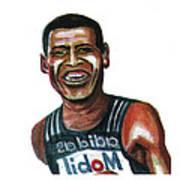 Haile Gebreselassie Print by Emmanuel Baliyanga
