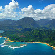 Hanalei Bay 2 Print by Ken Smith
