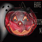 Have A Spooky Night Print by Debra     Vatalaro