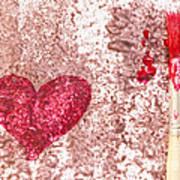 Heart  Print by Igor Kislev