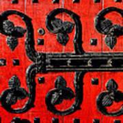 Heinz Chapel Door Detail Print by Thomas R Fletcher