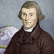 Henry Andrews, English Astronomer Print by Sheila Terry