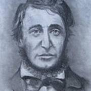 Henry David Thoreau Print by Jack Skinner