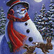 Holiday Magic Print by Richard De Wolfe