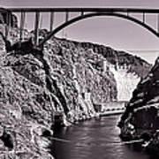 Hoover Dam Bridge Print by Andre Salvador
