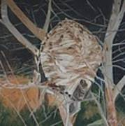 Hornet's Nest Print by Terry Forrest