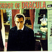 Horror Of Dracula, Christopher Lee, 1958 Print by Everett