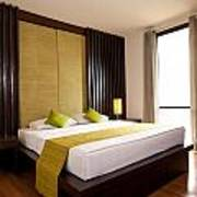 Hotel-room Print by Atiketta Sangasaeng