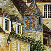 Houses In Sarlat Print by Scott Nelson