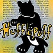 Hufflepuff Badger Print by Jera Sky