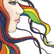 I Am My Own Rainbow Print by Nora Blansett