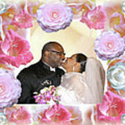 I Pronounce You Husband And Wife Print by Terry Wallace