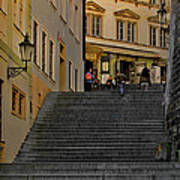 I Walked The Streets Of Prague Print by Christine Till
