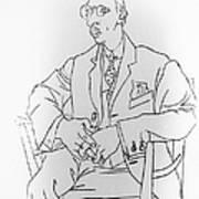 Igor Stravinsky, Russian Composer Print by Omikron