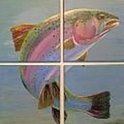In Rainbows Print by Jennifer J Folsom