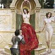 In The Venusburg Print by John Collier