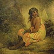 Indian Girl Print by George Morland