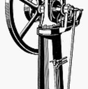 Internal Combustion Engine Print by Granger