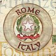 Italian Coat Of Arms Print by Debbie DeWitt