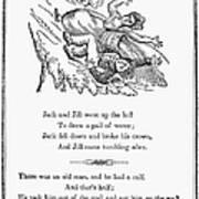 Jack And Jill, 1833 Print by Granger
