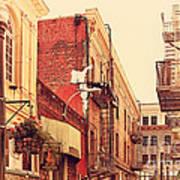 Jack Kerouac Street San Francisco . 7d7437 Print by Wingsdomain Art and Photography
