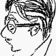 James Grover Thurber Print by Granger