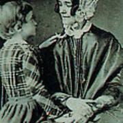 Jane Pierce Print by Photo Researchers
