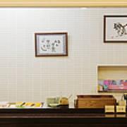 Japanese Breakfast Buffet Print by Jeremy Woodhouse