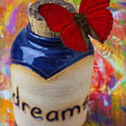 Jar Of Dreams Print by Garry Gay