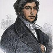 Jean-francois Champollion Print by Granger