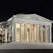 Jefferson Memorial Print by Metro DC Photography