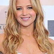 Jennifer Lawrence At Arrivals For 2011 Print by Everett