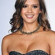 Jessica Alba At Arrivals For 2011 Nclr Print by Everett