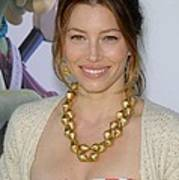 Jessica Biel At Arrivals For Planet 51 Print by Everett
