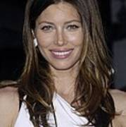 Jessica Biel At Arrivals For The A-team Print by Everett