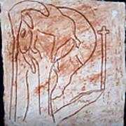 Jesus The Good Shepherd - Tile Print by Gloria Ssali