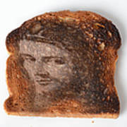 Jesus Toast Print by Photo Researchers, Inc.