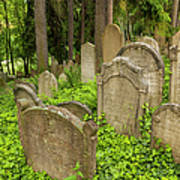 Jewish Town Tombs In The Jewish Cemetery Print by Maremagnum