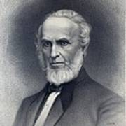 John Greenleaf Whittier 1807-1892 Print by Everett