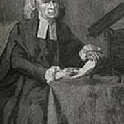 John Winthrop, Us Astronomer Print by Science, Industry & Business Librarynew York Public Library