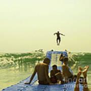 Jump Print by Paul Grand