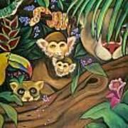 Jungle Fever Print by Juliana Dube
