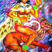 Kali Goddess Print by Sri Mala