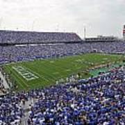 Kentucky Commonwealth Stadium Print by University of Kentucky