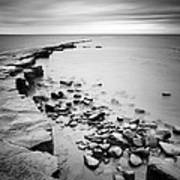 Kimmeridge Bay Print by Nina Papiorek