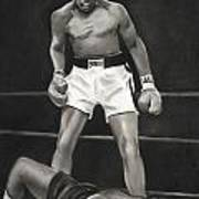 Knockdown Print by L Cooper